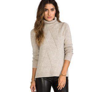 Vince Merino Wool Turtleneck Sweater Blend